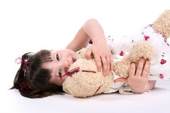 Teddy Bear Love Royalty Free Stock Photography