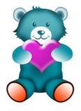 Teddy bear with Love Stock Image