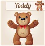 Teddy bear love hugs Royalty Free Stock Photos