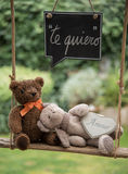 Teddy bear in love Royalty Free Stock Photo