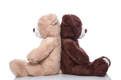 Teddy bear - lovers have problems - concept for problems, friend Royalty Free Stock Images