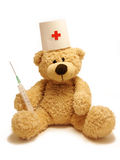 teddy-bear medic Stock Images
