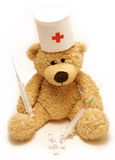 Teddy-bear medic Royalty Free Stock Images