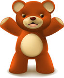 Teddy bear mesh illustration Stock Photos