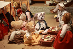 Teddy Bear Museum Stock Images