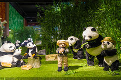 Teddy Bear Museum in China. National Teddy Bear Museum area of about 10, 000 square meters, by the worlds top 500 enterprises China Railway Bureau in China Stock Photo
