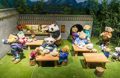 Teddy Bear Museum in China royalty free stock photo
