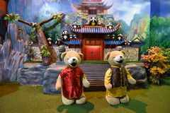 Teddy Bear Museum Pattaya Fotografia Stock