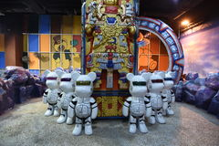 Teddy Bear Museum Pattaya Foto de archivo libre de regalías