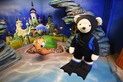 Teddy Bear Museum Pattaya Imagem de Stock Royalty Free