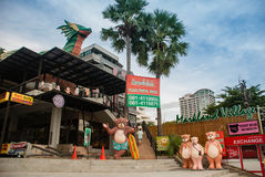 Teddy bear museum. Pattaya is the first and only museum in Southeast Asia. It is the new , which will offer all the difference happy and impression not the same Royalty Free Stock Photos