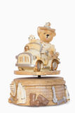 Teddy Bear music box Royalty Free Stock Photo