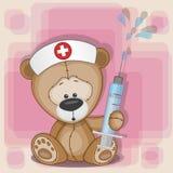 Teddy Bear Nurse Stock Photo
