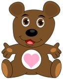 A teddy bear open arms Royalty Free Stock Photo