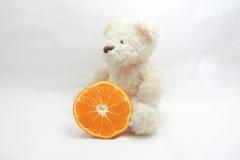 Teddy bear Orange fruit. Stock Photos