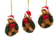 Teddy Bear Ornaments Royalty Free Stock Photography