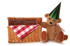 Teddy bear picnic tea Stock Photos