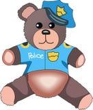 TEDDY BEAR POLICE Royalty Free Stock Photography
