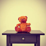 Teddy bear, with a retro effect Stock Photography