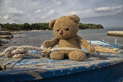Teddy bear sailor Royalty Free Stock Photos