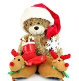 Teddy bear Santa Claus Royalty Free Stock Photo