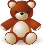 Teddy bear sitting Royalty Free Stock Photos