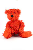 Teddy bear. Sitting on a white background Royalty Free Stock Image
