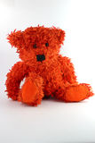 Teddy bear. Sitting on a white background Royalty Free Stock Photos