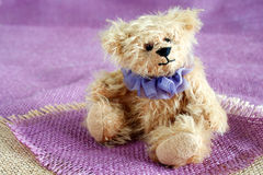 Teddy bear, soft and handmade Stock Photos