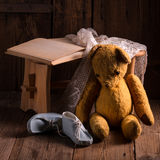 The teddy bear Royalty Free Stock Photography