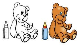 Teddy Bear-Spielzeug Vektor Abbildung