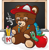 Teddy Bear Student Royalty Free Stock Photo