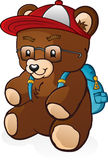 Teddy Bear Student Stock Photo