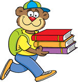 Teddy Bear Student Stock Image