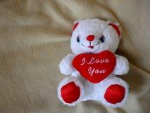 Teddy Bear-stuk speelgoed stock afbeelding