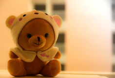 Teddy Bear. On the table Royalty Free Stock Photo
