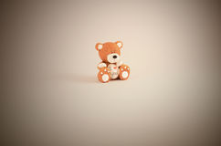 Teddy Bear te amo Imagen de archivo libre de regalías