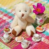 Teddy Bear Tea Party Lizenzfreie Stockfotografie