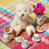 Teddy Bear Tea Party royalty free stock photography