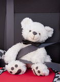 Teddy bear teaching road safety Royalty Free Stock Photo