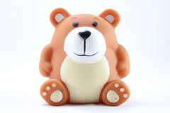 Teddy Bear. On a white background Stock Photography
