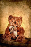 Teddy bear with tie Royalty Free Stock Images