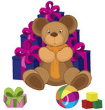 Teddy bear toy Royalty Free Stock Image