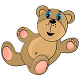Teddy bear toy for birthday Royalty Free Stock Images