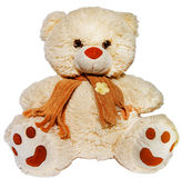 Teddy bear. Toy bear, for children, soft toy, gift for girls, furry bear, teddy bear, doll, game for kids royalty free stock images