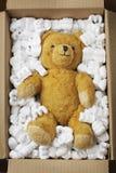 Teddy bear transport Royalty Free Stock Photography