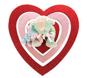 Teddy Bear Valentine Royalty Free Stock Photos
