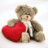 Teddy bear for Valentine's Day Royalty Free Stock Photo