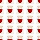 Teddy Bear Valentines Day Card Stock Photo