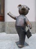 Teddy Bear van Lodz royalty-vrije stock foto's